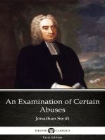 An Examination of Certain Abuses by Jonathan Swift - Delphi Classics (Illustrated)
