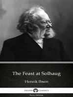 The Feast at Solhaug by Henrik Ibsen - Delphi Classics (Illustrated)