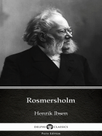 Rosmersholm by Henrik Ibsen - Delphi Classics (Illustrated)