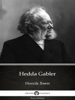 Hedda Gabler by Henrik Ibsen - Delphi Classics (Illustrated)