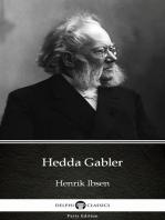 Hedda Gabler by Henrik Ibsen - Delphi Classics (Illustrated)