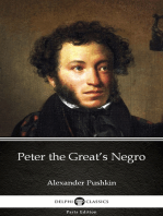 Peter the Great's Negro by Alexander Pushkin - Delphi Classics (Illustrated)