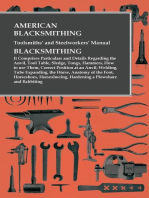 American Blacksmithing, Toolsmiths' and Steelworkers' Manual - Blacksmithing
