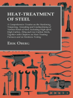 Heat-Treatment of Steel: A Comprehensive Treatise on the Hardening, Tempering, Annealing and Casehardening of Various Kinds of Steel: Including High-speed, High-Carbon, Alloy and Low Carbon Steels, Together with Chapters on Heat-Treating Furnaces and on Hardness Testing