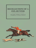 Recollections of a Fox-Hunter
