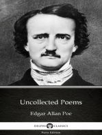 Uncollected Poems by Edgar Allan Poe - Delphi Classics (Illustrated)