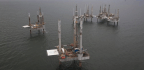 When a Hurricane Hits an Offshore Oil Platform