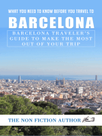 What You Need to Know Before You Travel to Barcelona