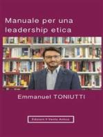 Manuale per una leadership etica