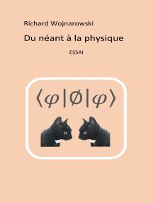 Du néant à la physique: Nouvelle édition, 2017