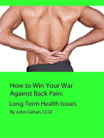 How to Win Your War Against Back Pain