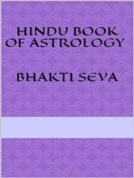 Hindu book of astrology