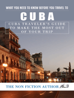 What You Need to Know Before You Travel to Cuba