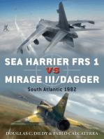 Sea Harrier FRS 1 vs Mirage III/Dagger: South Atlantic 1982