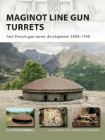 Maginot Line Gun Turrets