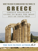 What You Need to Know Before You Travel to Greece