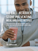 80 Gallbladder Stone Preventing Meal and Juice Recipes