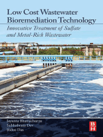 Low Cost Wastewater Bioremediation Technology: Innovative Treatment of Sulfate and Metal-Rich Wastewater