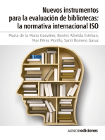 Nuevos instrumentos para la evaluación de bibliotecas: la normativa internacional ISO