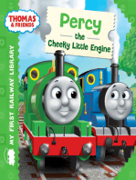 Percy the Cheeky Little Engine (Thomas & Friends My First Railway Library)