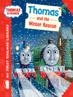Thomas and the Winter Rescue (Thomas & Friends My First Railway Library)