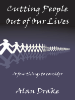Cutting People Out of Our Lives
