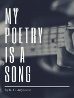 My Poetry Is A Song