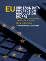 EU General Data Protection Regulation (GDPR)