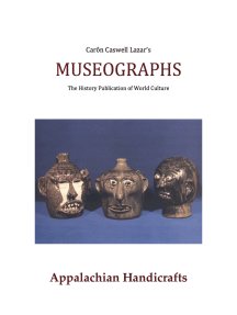 Museographs: Appalachian Handicrafts