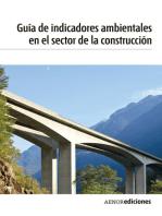 Guía de indicadores ambientales en el sector de la construcción