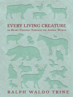Every Living Creature - or Heart-Training Through the Animal World