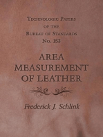 Technologic Papers of the Bureau of Standards No. 153 - Area Measurement of Leather