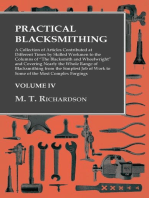 "Practical Blacksmithing - A Collection of Articles Contributed at Different Times by Skilled Workmen to the Columns of ""The Blacksmith and Wheelwright"""