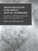 Mensuration for Sheet Metal Workers - As Applied in Working Ordinary Problems in Shop Practice