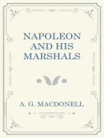 Napoleaon and his Marshals