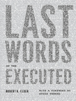 Last Words of the Executed