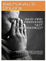 Why Are Prayers Not Answered?