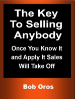 The Key to Selling Anybody