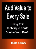 Add Value to Every Sale