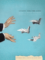 Litany for the City