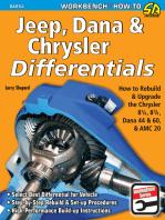 Jeep, Dana & Chrysler Differentials