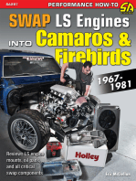 How to Swap GM LS-Engines into Camaros & Firebirds 1967-1981