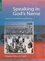 Speaking in God's Name