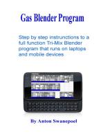 Gas Blender Program