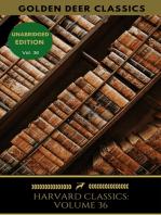Harvard Classics Volume 36
