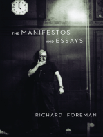 The Manifestos and Essays