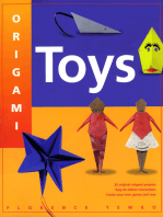 Origami Toys: With Easy Directions and 22 Origami Projects Kids and Parents Alike Will Love This How-To Origami Book