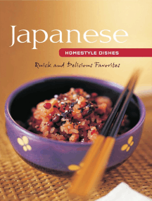Japanese Homestyle Dishes: Quick and Delicious Favorites