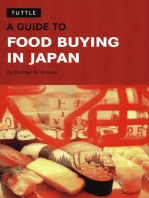 Guide to Food Buying in Japan