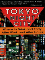 Tokyo Night City Where to Drink & Party